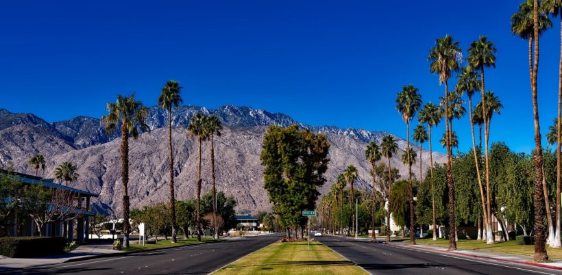 Palm Springs California Tourism Business Improvement Districts